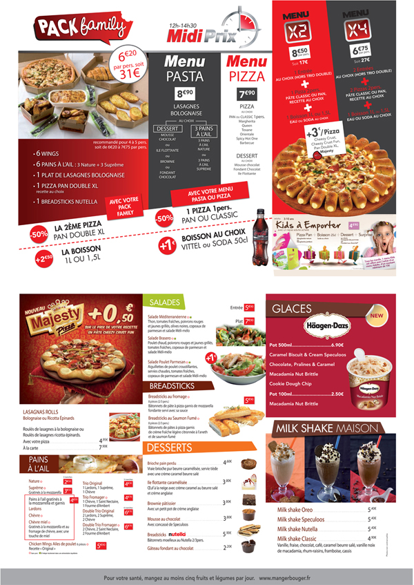 Catalogue et promotions Pizza Hut - Page 2